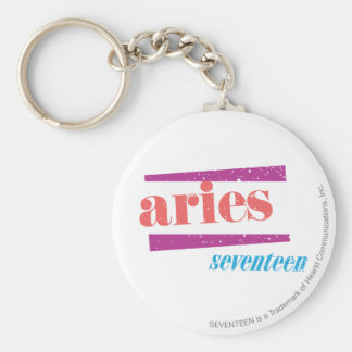 Aries Lt Pink Key Ring