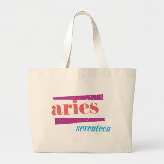 Aries Lt Pink Large Tote Bag