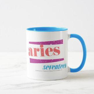Aries Lt Pink Mug