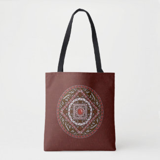 Aries Mandala All-Over-Print Bag