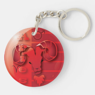 Aries-March 21 to April 20 Keychain
