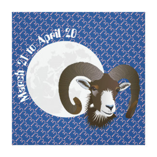 Aries March 21 tons of April 20 Canvas Canvas Print