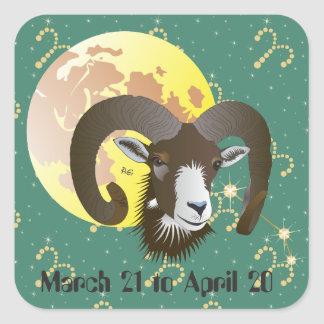 Aries March 21 tons of April 20 Sticker