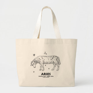 Aries (March 21st - April 19th) Tote Bags