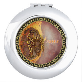 Aries March 21st until April 20th Horoscope Compact Mirrors