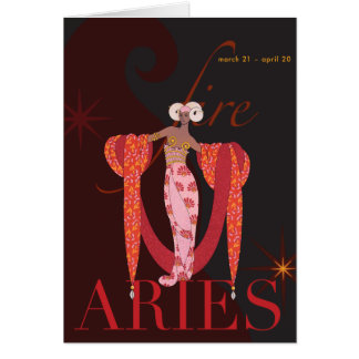 Aries Note Note Card