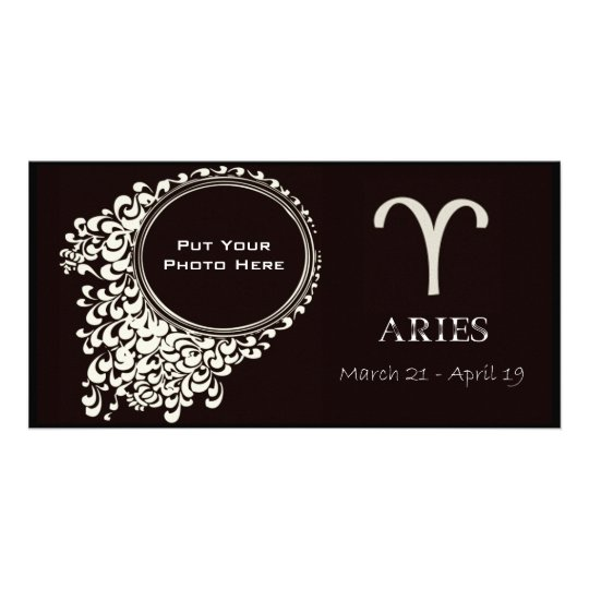 Aries PhotoTemplate Card