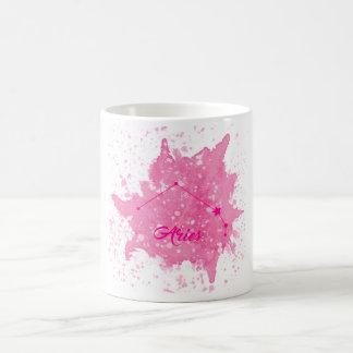 Aries Pink Mug