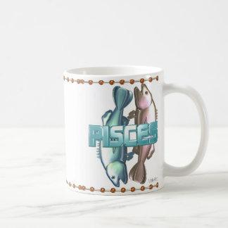 Aries Pisces zodiac friendship Basic White Mug