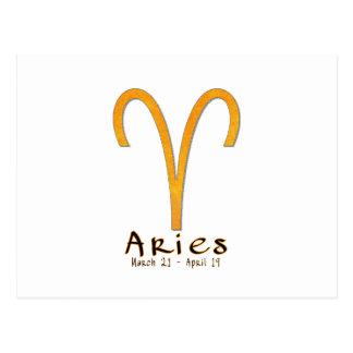 Aries Postcard