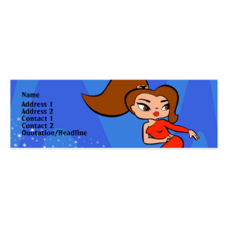 Aries Profile Card Pack Of Skinny Business Cards