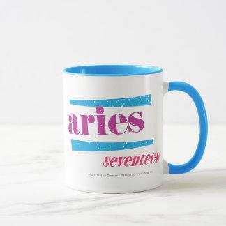 Aries Purple Mug