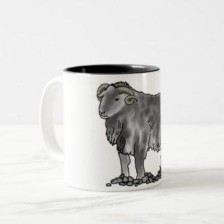 Aries Ram Herdwick Sheep Art Mug