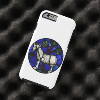 Aries Ram Sheep Year 2015 Stained Glass - Iphone 6 Tough iPhone 6 Case