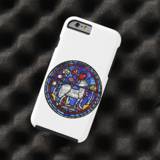 Aries Ram Sheep Year Stained Glass Chartres Tough iPhone 6 Case