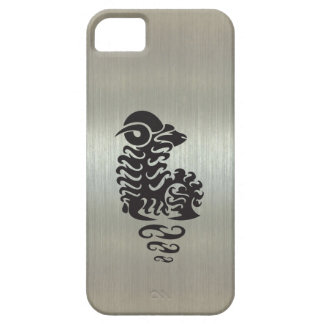 Aries Ram Silhouette with Metallic Effect iPhone 5 Covers