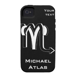 Aries & Scorpio bw Vibe iPhone 4 Covers