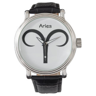 Aries Sign of the Zodiac Watches. Watch