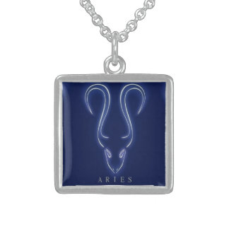 Aries Sterling Silver Necklace