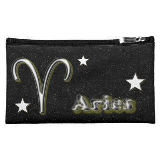 Aries symbol makeup bag
