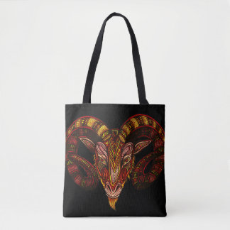 Aries Symbol Tote Bag