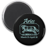 Aries Teal Magnets