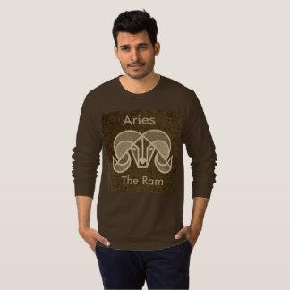 Aries The Ram Horoscope Zodiac Symbol Jersey T-Shirt