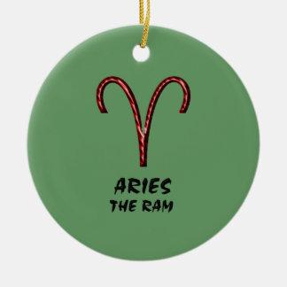 Aries the ram ornament
