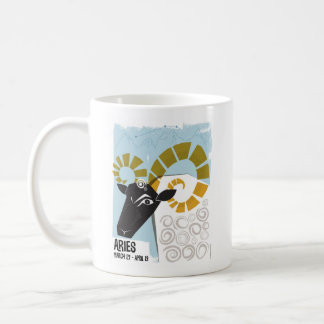 Aries the Ram Zodiac Coffee Mug