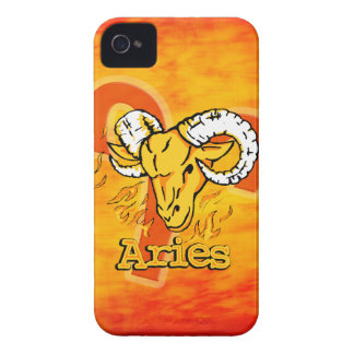 Aries The Ram zodiac fire sign iphone case iPhone 4 Covers