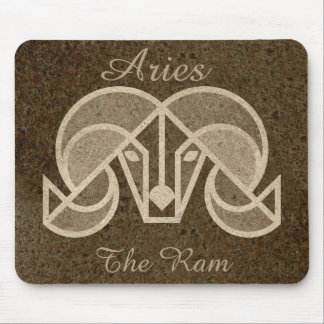 Aries The Ram Zodiac Horoscope Astrology Mouse Pad