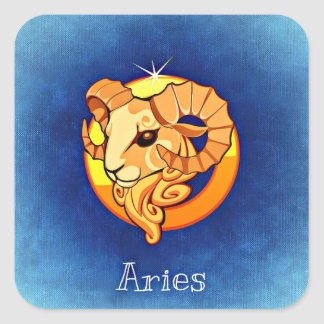 Aries, The Ram, Zodiac Horoscope Astrology Sticker