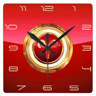 Aries - The Ram Zodiac Sign Clock