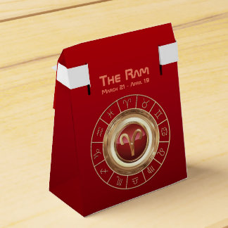 Aries - The Ram Zodiac Sign Favour Box