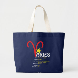 Aries Traits Dark Tote