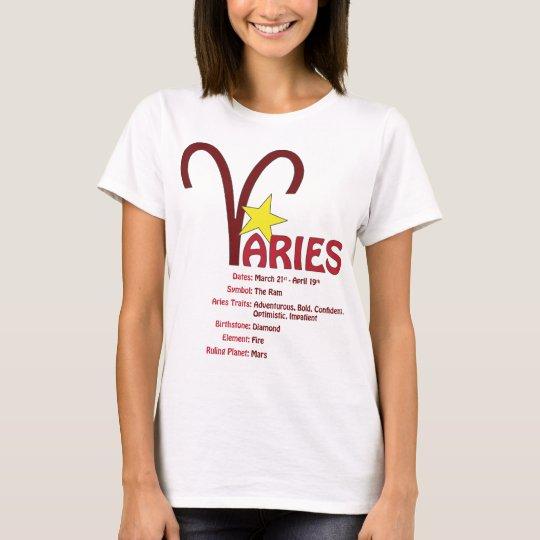 Aries Traits T-Shirt