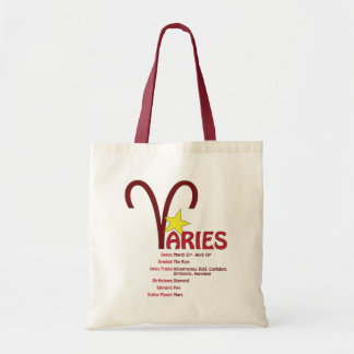 Aries Traits Tote