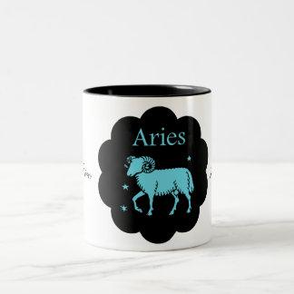 Aries Two-Tone Coffee Mug