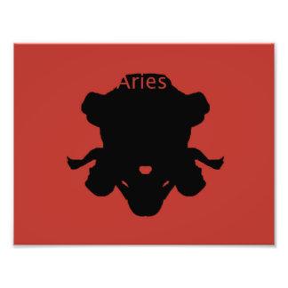 Aries Zodiac Art Photo