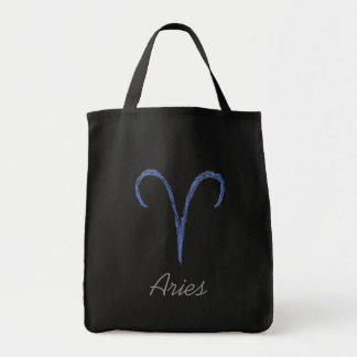 Aries. Zodiac Astrology Sign. Tote Bag