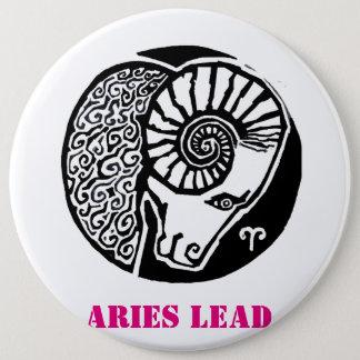 Aries - Zodiac Badge round