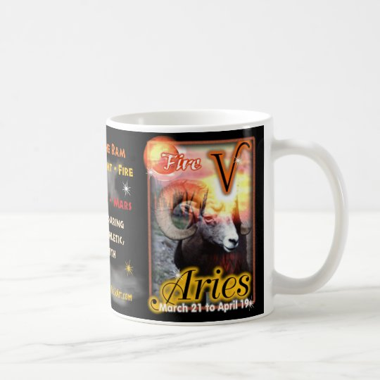 Aries Zodiac Cup or mug