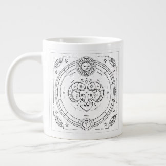 Aries Zodiac Custom Birthday Mug