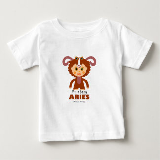 Aries Zodiac for Kids Baby T-Shirt