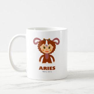 Aries Zodiac for Kids Classic White Coffee Mug