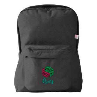 Aries Zodiac Horoscope American Apparel™ Backpack
