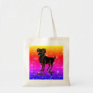 Aries Zodiac Modern Tote Bags