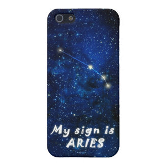ARIES zodiac sign - iPhone 5 featured case iPhone 5 Cover