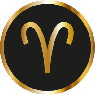 Aries Zodiac Sign Key Rings & Keychains | Zazzle UK