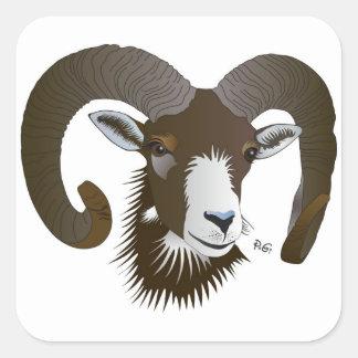 Aries - zodiac sticker
